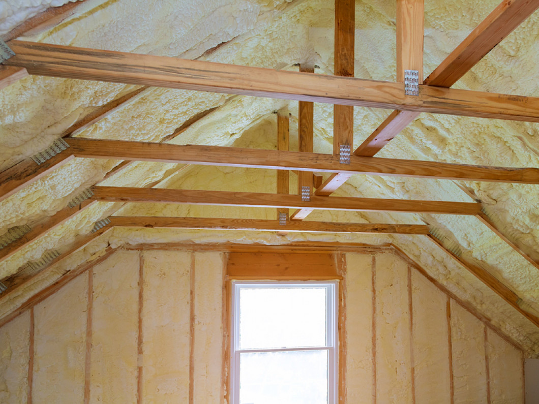 WHY SPRAY FOAM INSULATION?